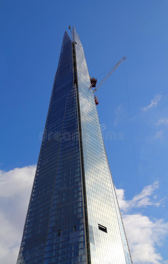 Download Shard London Bridge stock image. Image of parked, britain - 27497701