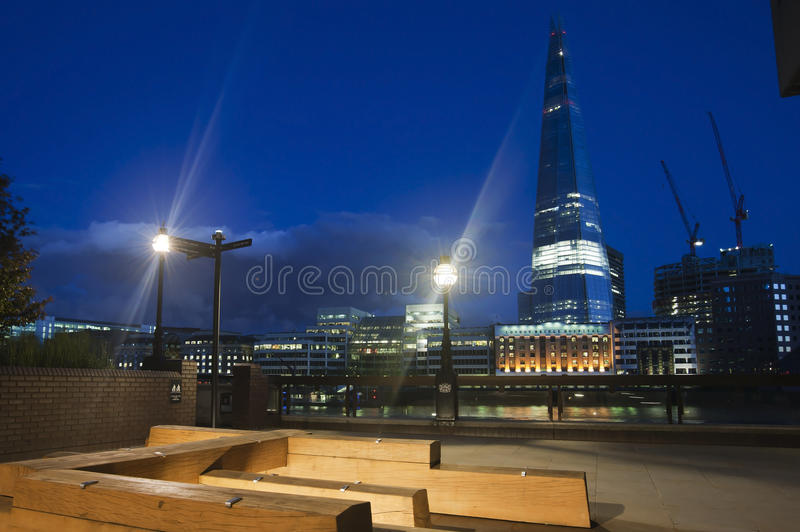 Download Shard By Night Editorial Photography - Image: 25281102