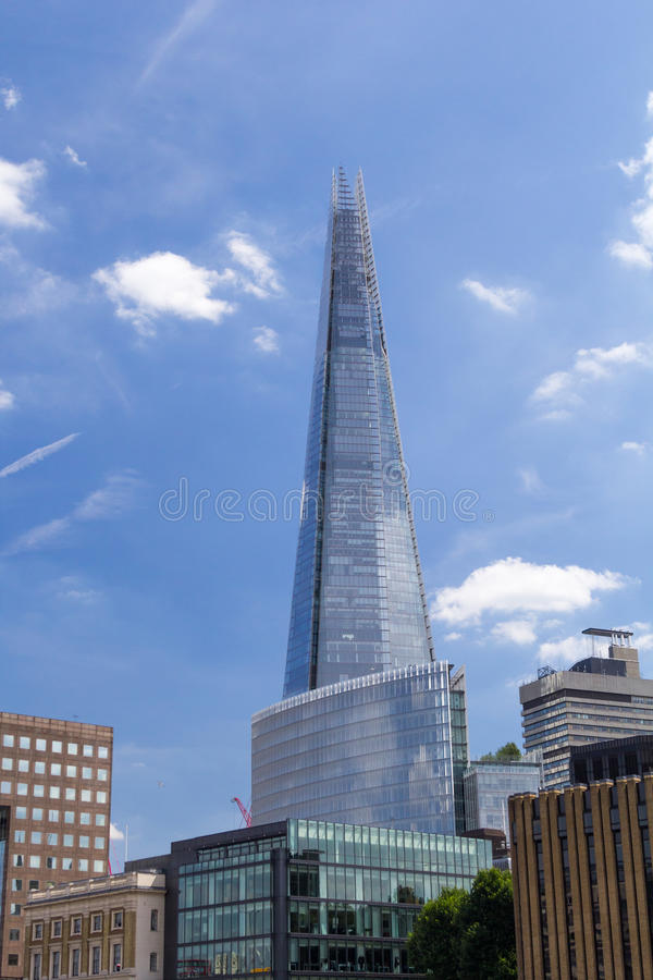 The Shard stock images