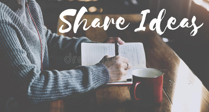 Share Connection Information Networking Social Concept stock photography