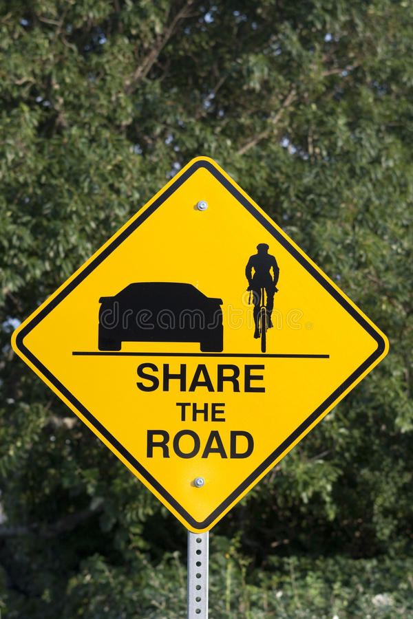 Share the road stock photography