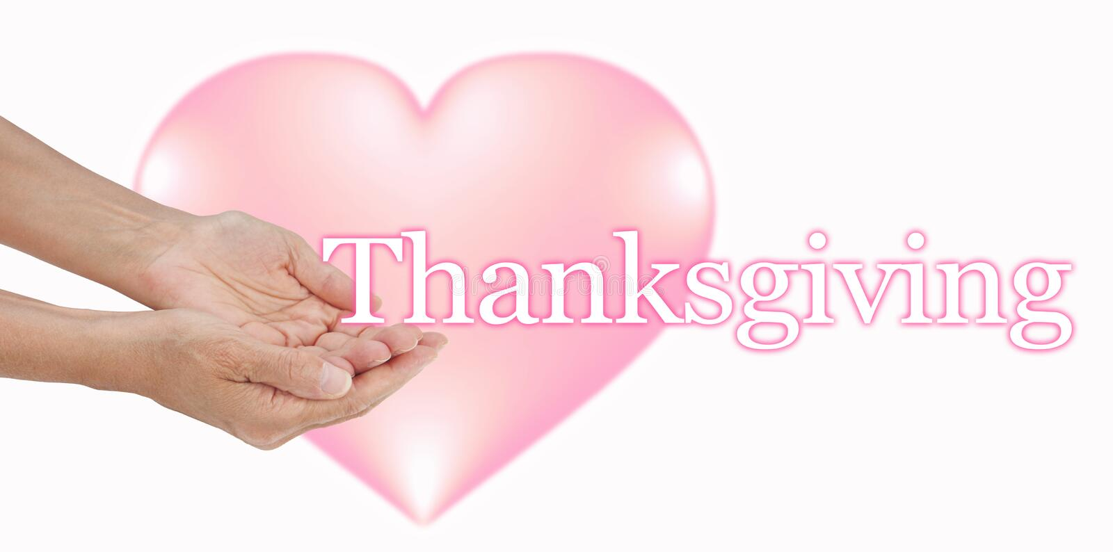 Share your Love at Thanksgiving stock images