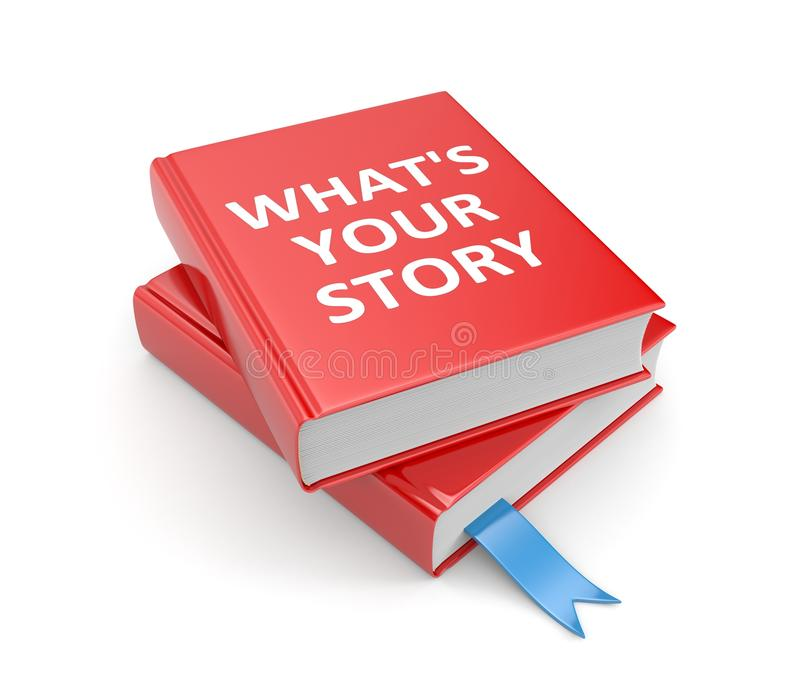 Share your story royalty free illustration