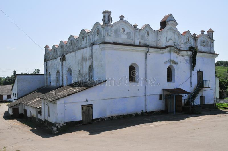 Shargorod犹太教堂-乌克兰 免版税库存照片