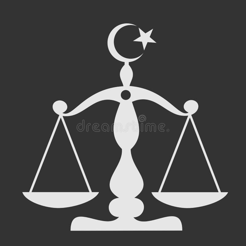 sharia stock illustratie