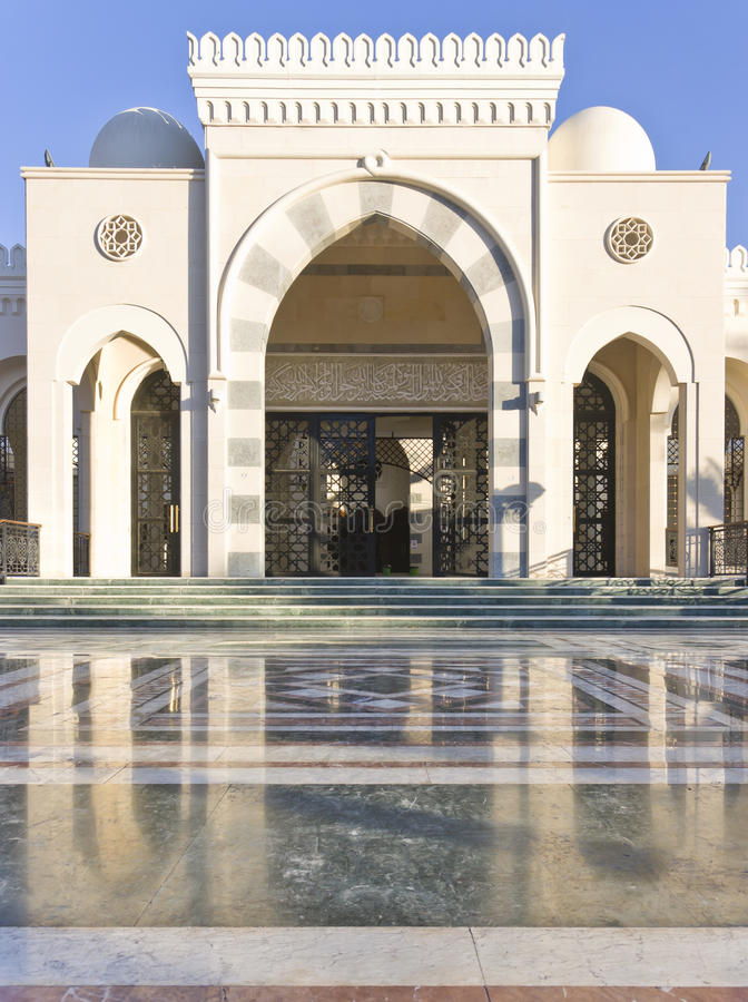 Sharif Hussein Bin Ali mosque royalty free stock photography