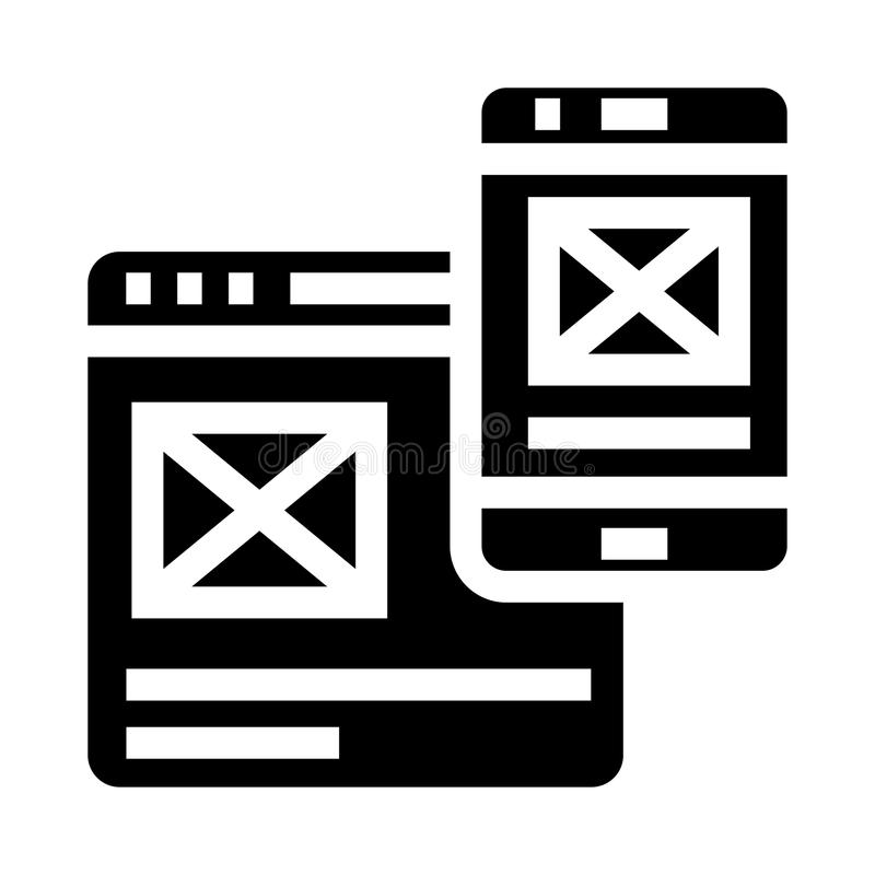 Sharing glyphs icon. Sharing Vector glyphs Icon. Elements for mobile concept and web apps. Thin line icons for website design and development, app development stock illustration