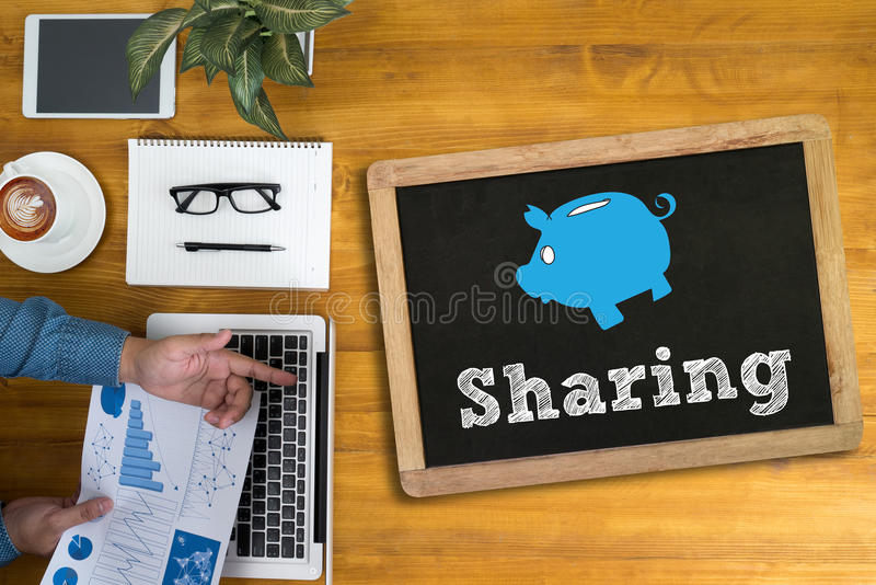 Sharing (Sharing Share Social Networking Connection Communicatio stock images