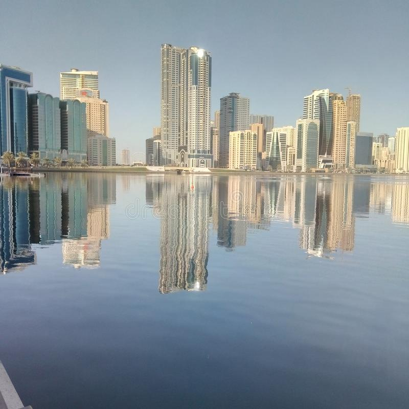 Sharja emirat stock fotografie