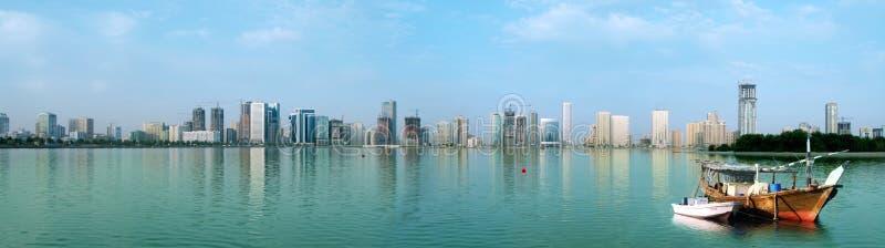 Sharjah stock afbeelding