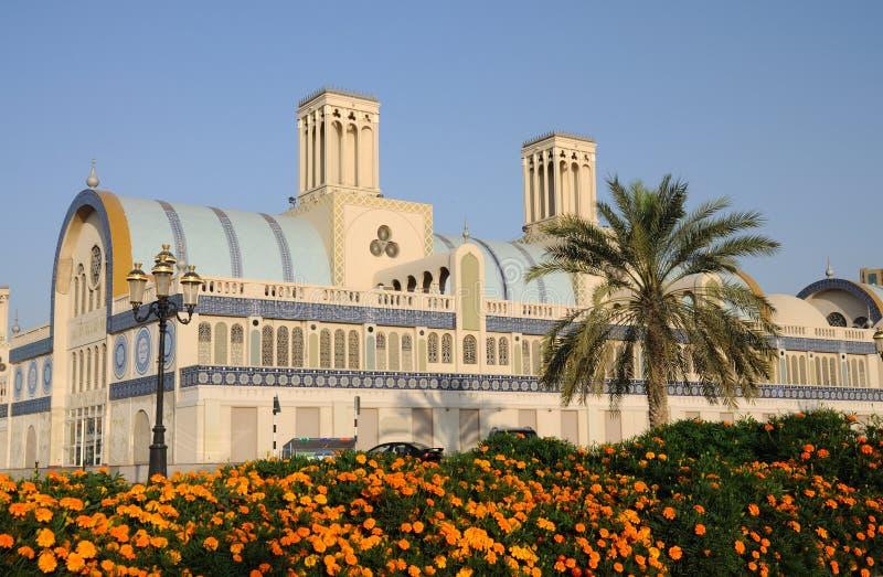 sharjah för central stad souq royaltyfria foton