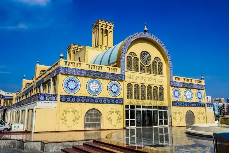Sharjah guld- Souk arkivfoto