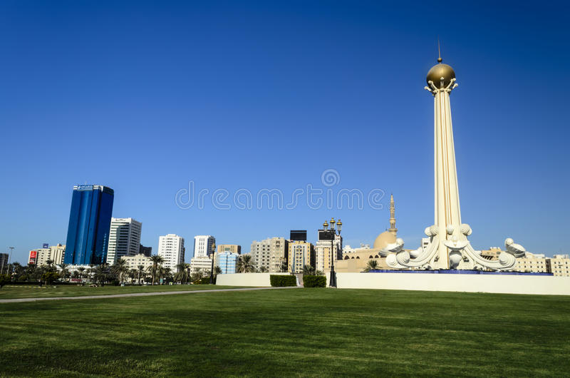 Sharjah UAE royalty free stock image