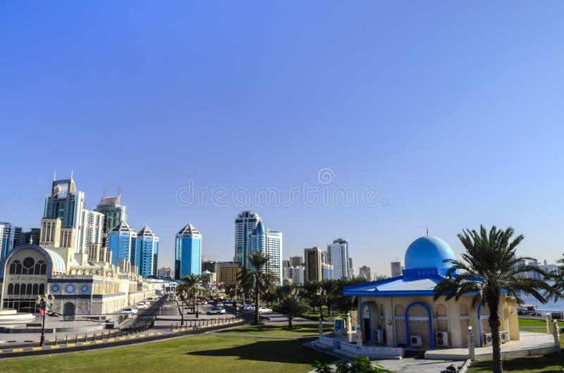Sharjah UAE royalty free stock images