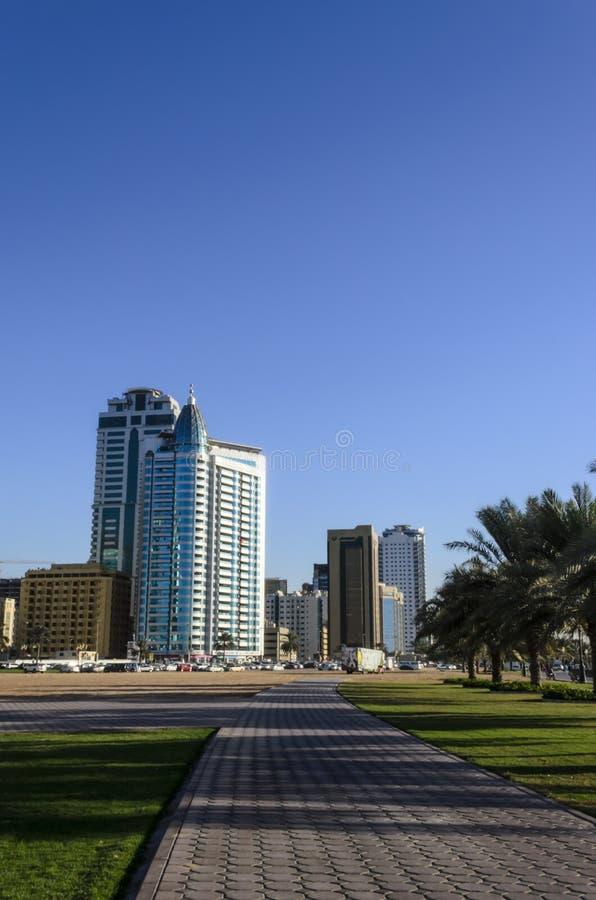 Sharjah UAE stock photo