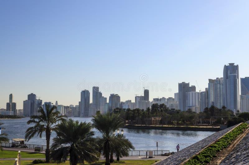Sharjah UAE stock image