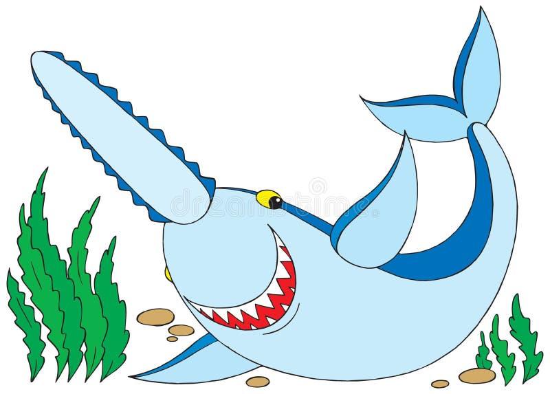 Download Shark stock vector. Illustration of childhood, comics - 3166435