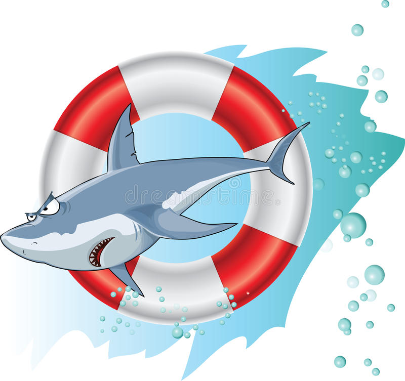 Download Shark stock illustration. Image of ocean, vector, hungry - 32021415