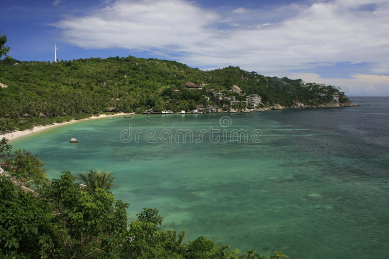 Shark Bay, Ko Tao, Thailand. Southeast Asia royalty free stock photos