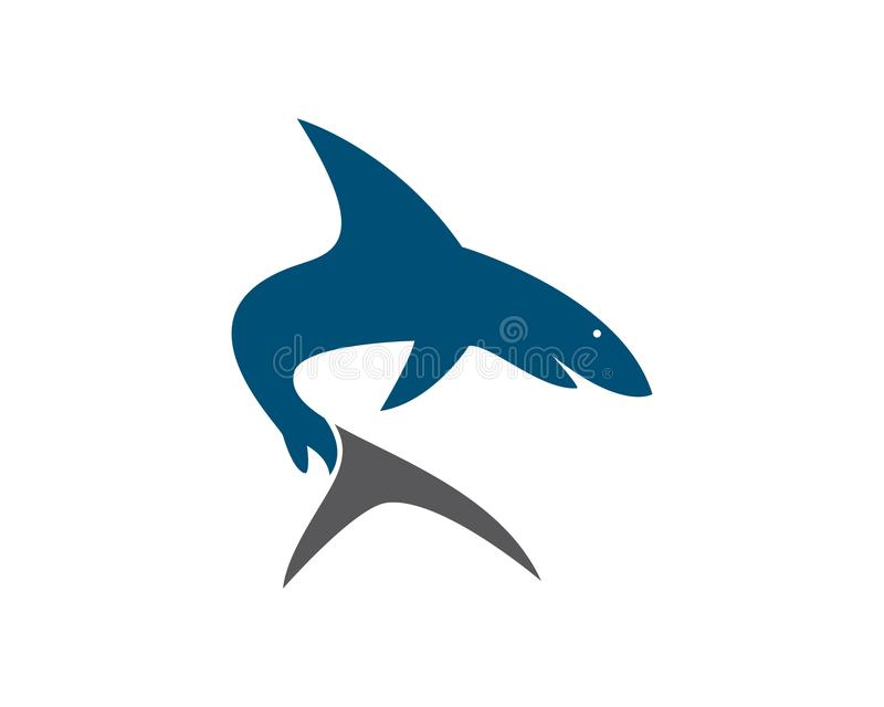 Shark vector icon stock photo. Image of design, isolated - 111719084