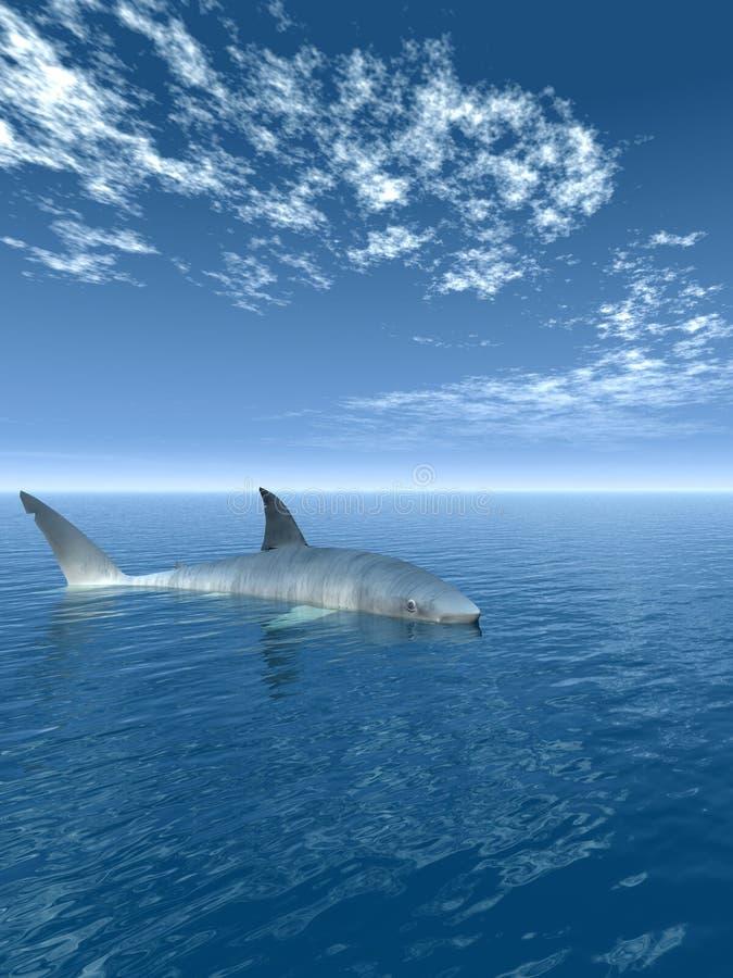Download Shark_V stock illustration. Image of underwater, danger - 2020907