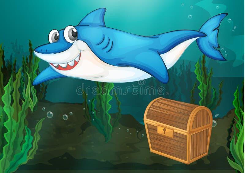 Sharky бесплатная иллюстрация