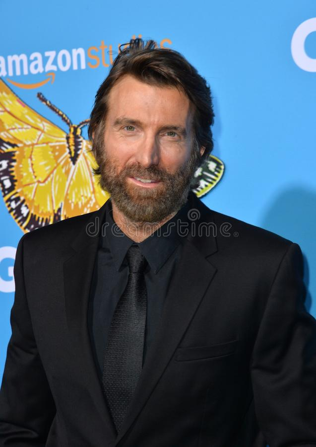 Sharlto Copley royalty-vrije stock foto