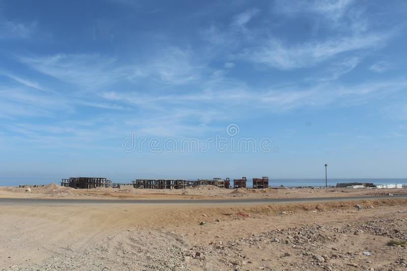Sharm El谢赫,埃及,西奈 库存图片