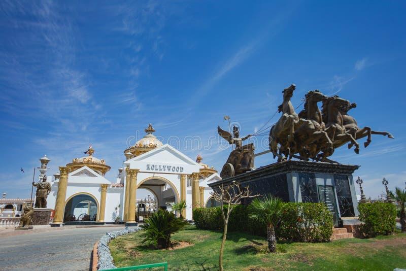 SHARM EL SHEIKH, ЕГИПЕТ - 16-ОЕ МАЯ 2018: Голливуд - развлекательный центр стоковые изображения