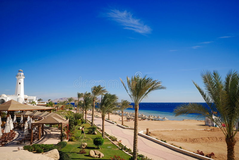 Sharm El Sheikh stockbild