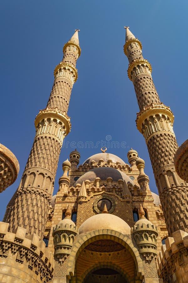 Sharm el-Sheikh Foto della moschea di Al Mustafa fotografia stock libera da diritti