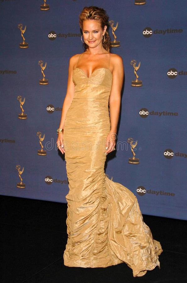 Sharon Case. In the press room at The 33rd Annual Daytime Emmy Awards. Kodak Theatre, Hollywood, CA. 04-28-06 stock image