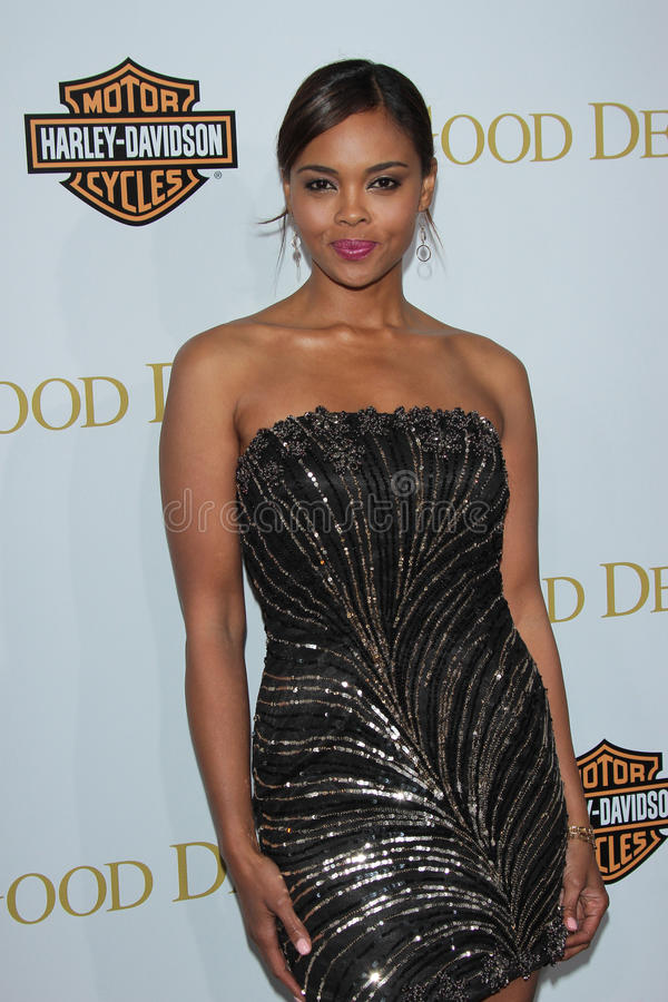 Sharon Leal. At Tyler Perry's Good Deeds Los Angeles Premiere, Regal Cinemas, Los Angeles, CA 02-14-12 royalty free stock images