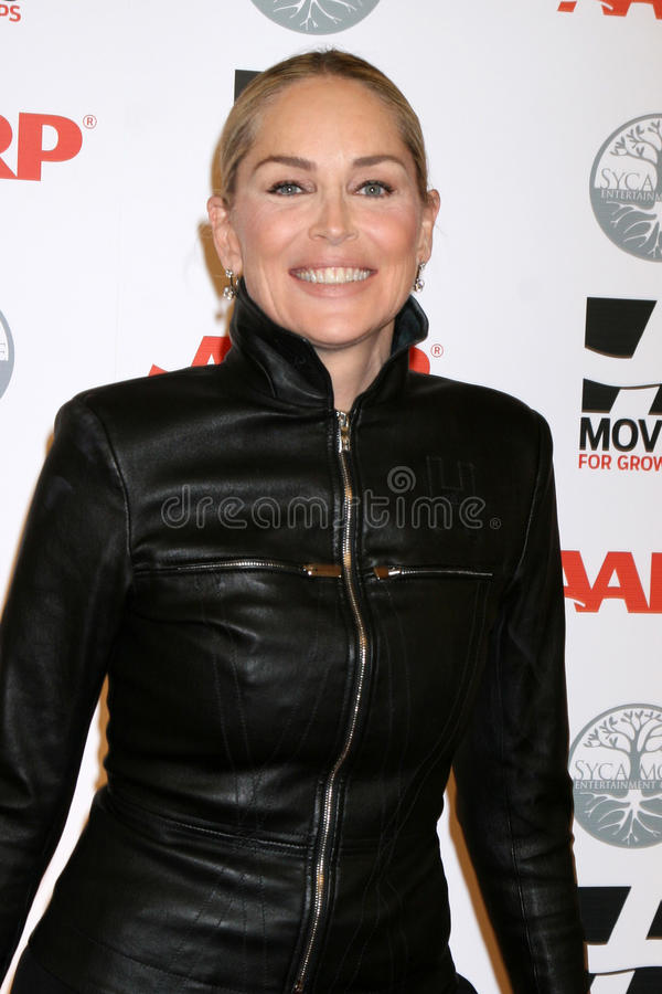 Sharon Stone Editorial Image
