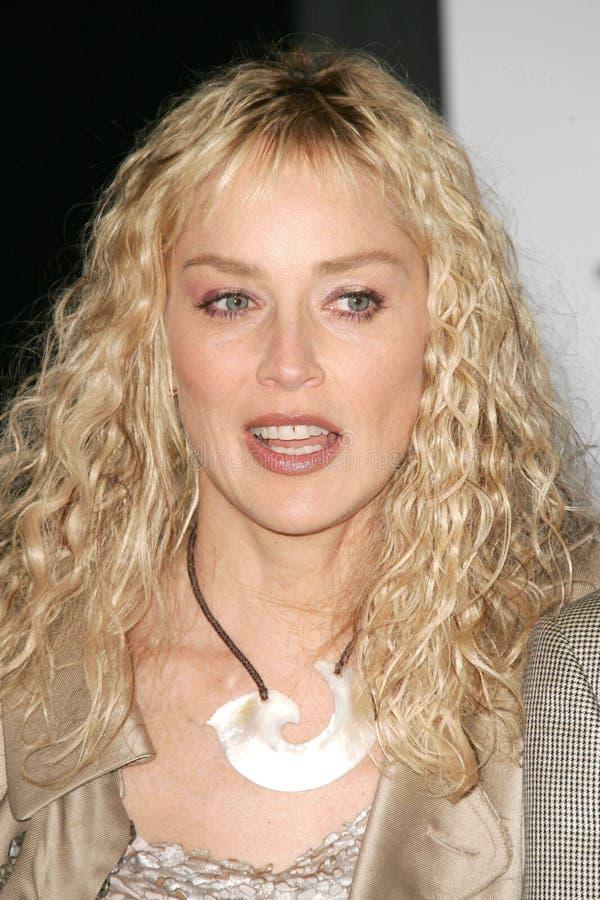 Download Sharon Stone redaktionell foto. Bild av hollywood, roosevelt - 37345040