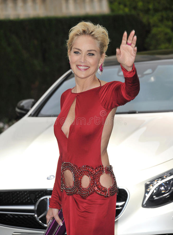 Sharon Stone stock foto's