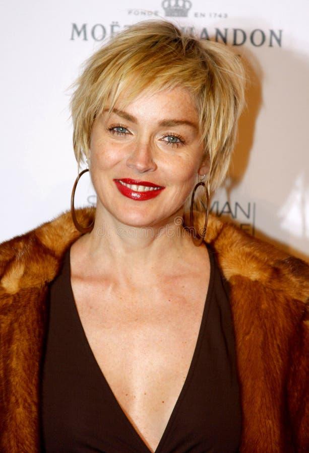 Sharon Stone immagine stock libera da diritti