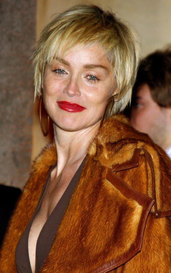 Sharon Stone fotografie stock