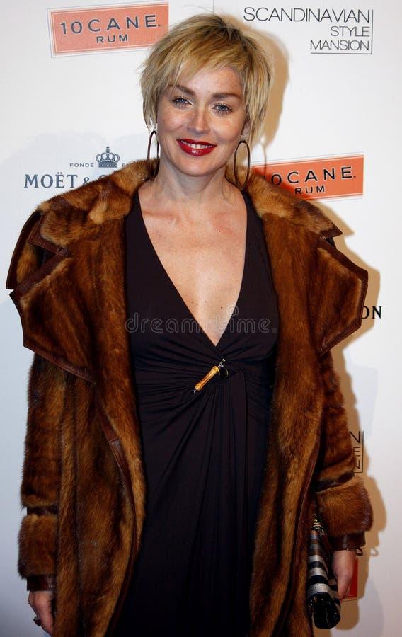 Sharon Stone fotografia stock libera da diritti
