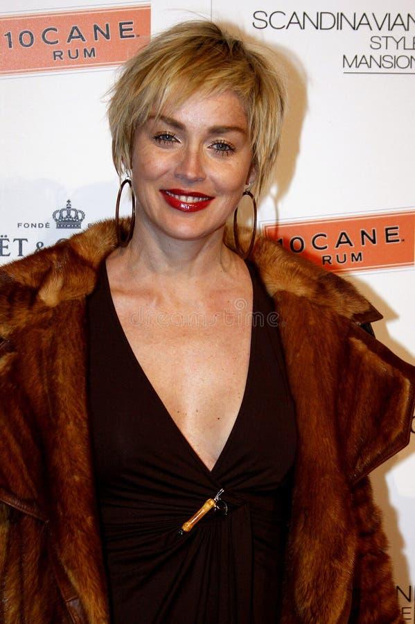Sharon Stone immagini stock