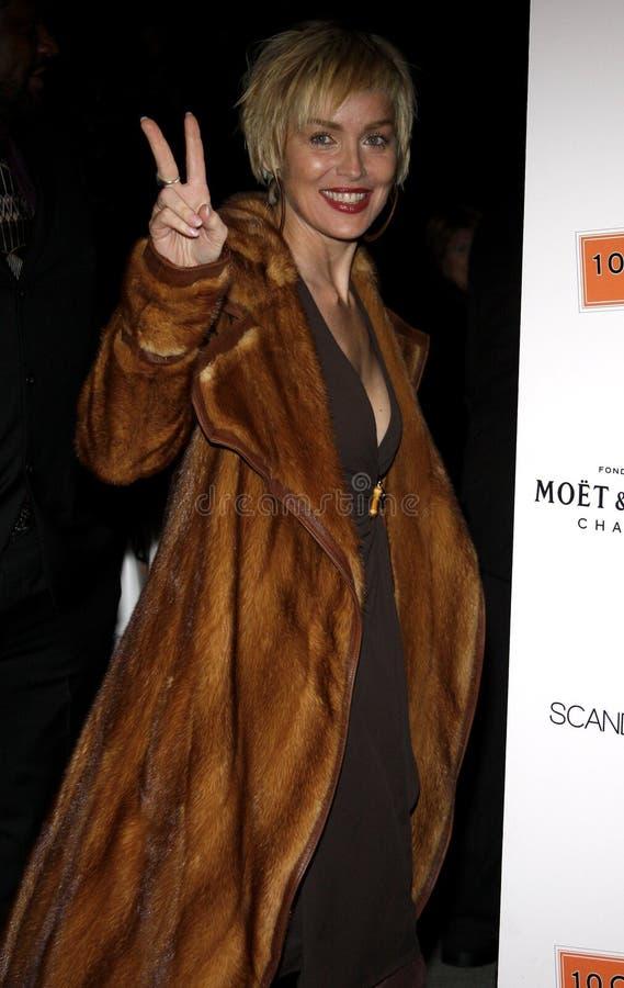 Sharon Stone fotografie stock libere da diritti