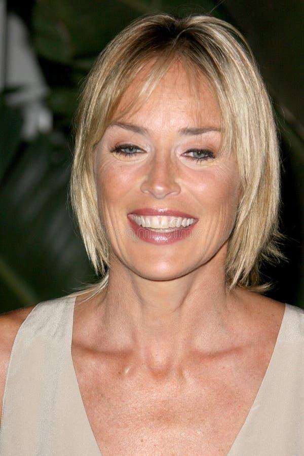 Sharon Stone Shangrien-Las royaltyfri bild
