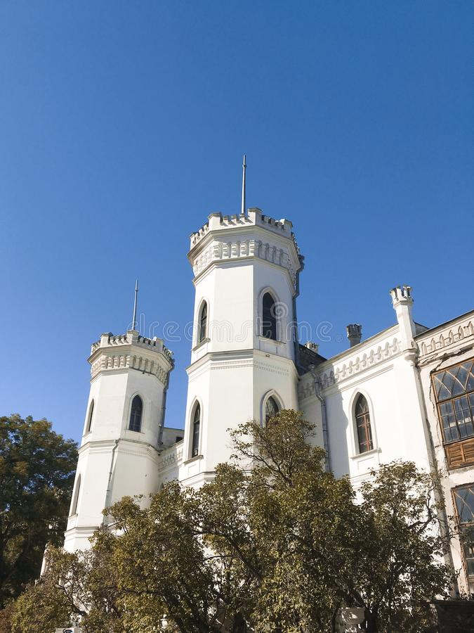 Sharovka castle royalty free stock photo