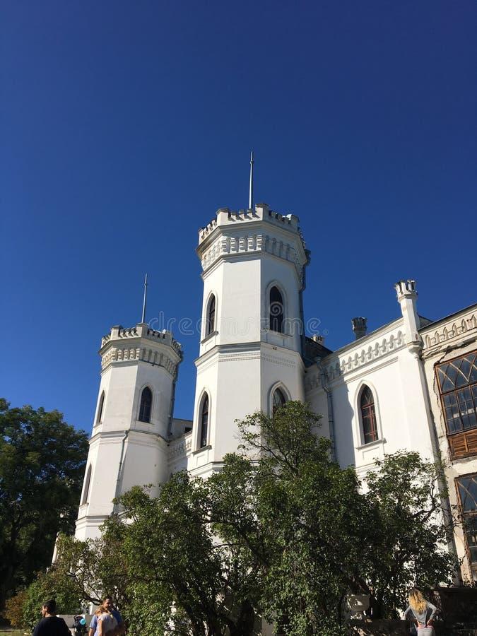 Sharovka castle royalty free stock image