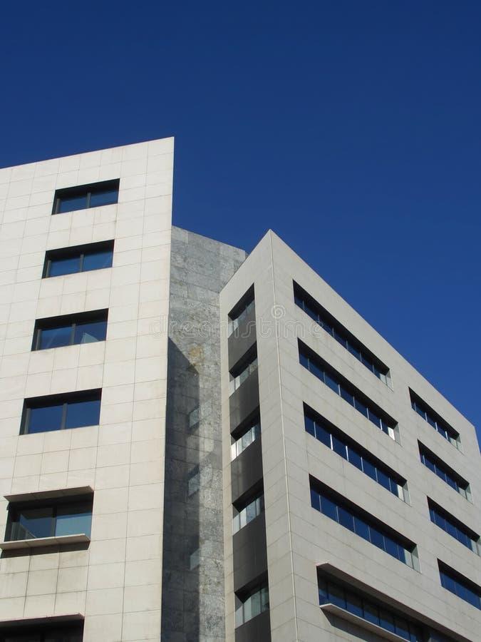 Sharp building in Barcelona, Spain stock photography