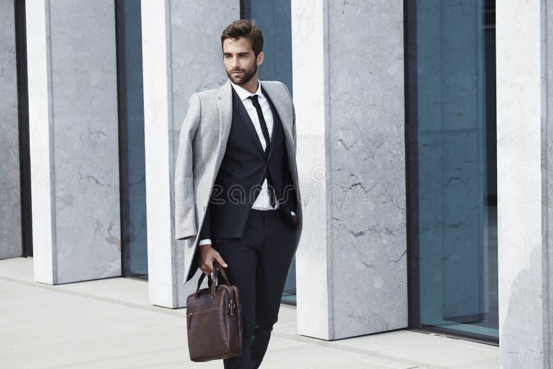 Sharp dressed guy stock photo