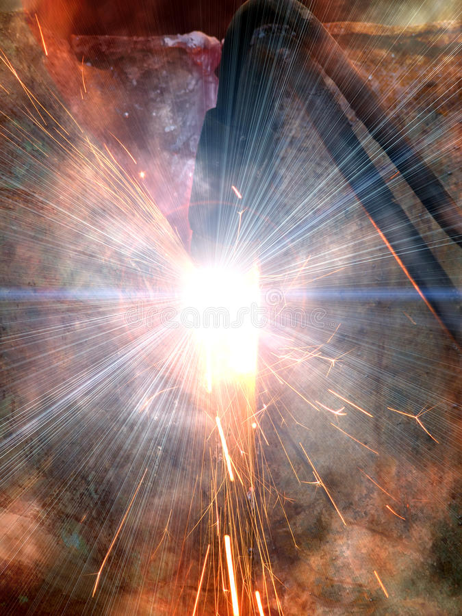 Download Sharp  metal   smoke stock photo. Image of iron, ultraviolet - 14869290