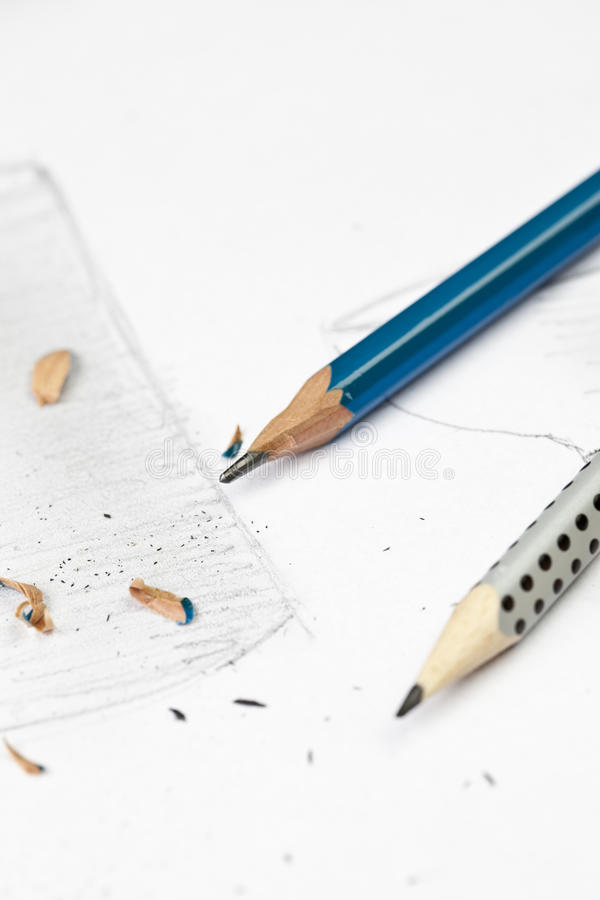 Download Sharp pencil stock image. Image of sketch, thumbs, holding - 23092811
