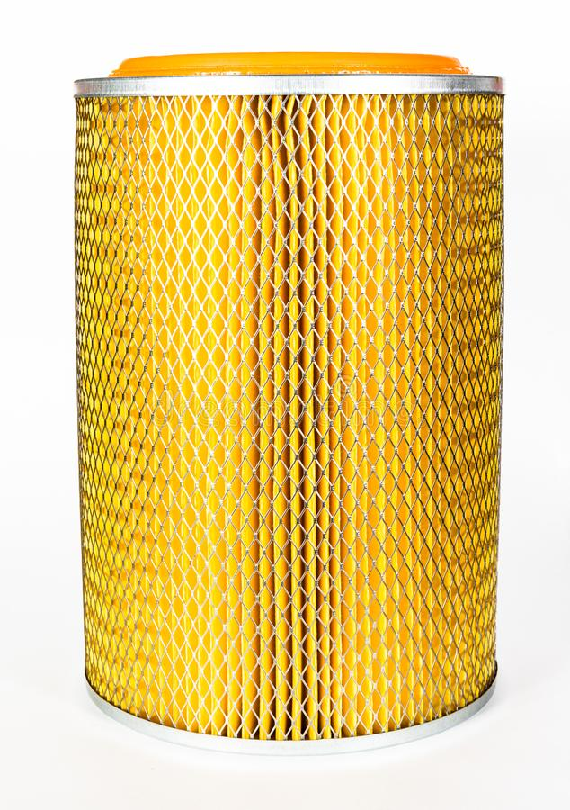 Sharp photo of air intake filter royalty free stock photography