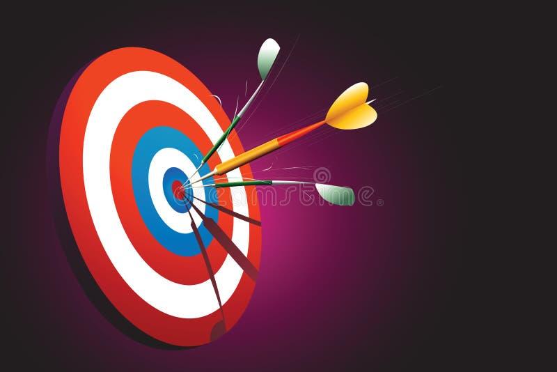 Download Sharp shooter stock illustration. Image of darts, goal - 1521899